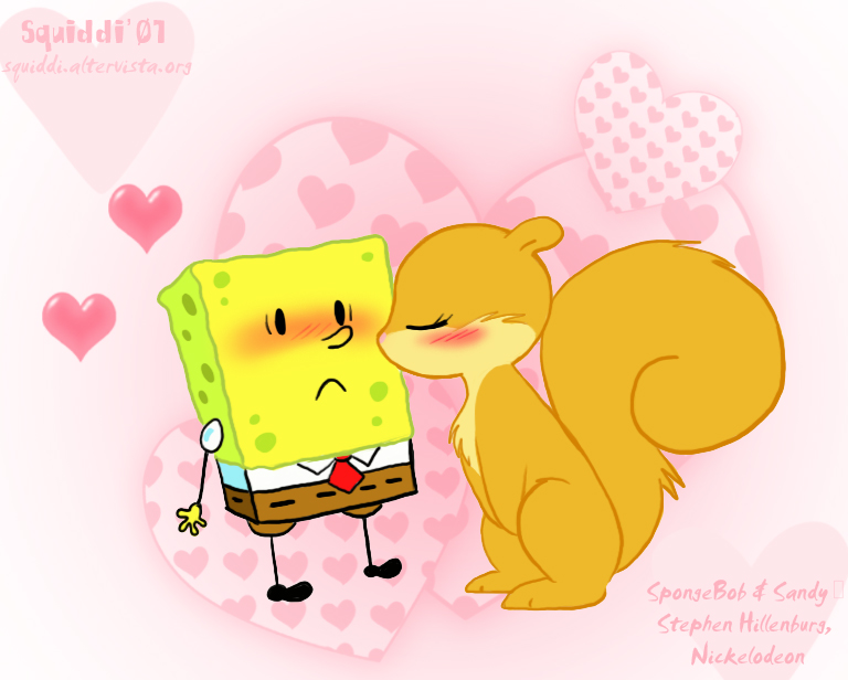 Cute_SpongeBob_and_Sandy_by_Squiddi.jpg